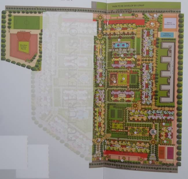 Images for Master Plan of Prateek Grand City