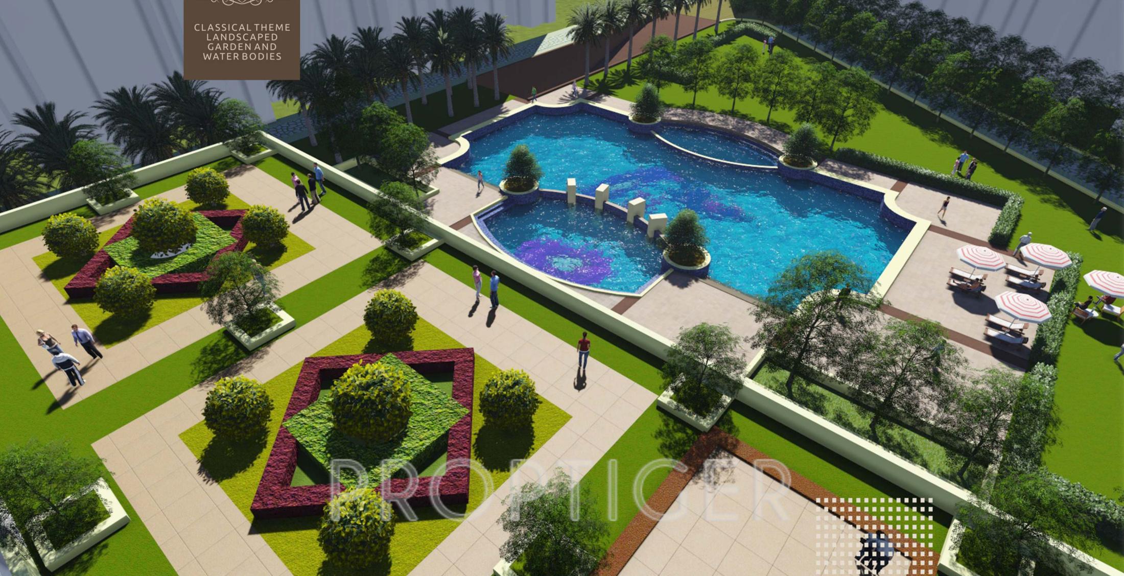 Prateek grand city in pratap vihar ghaziabad price - Swimming pool in vaishali ghaziabad ...