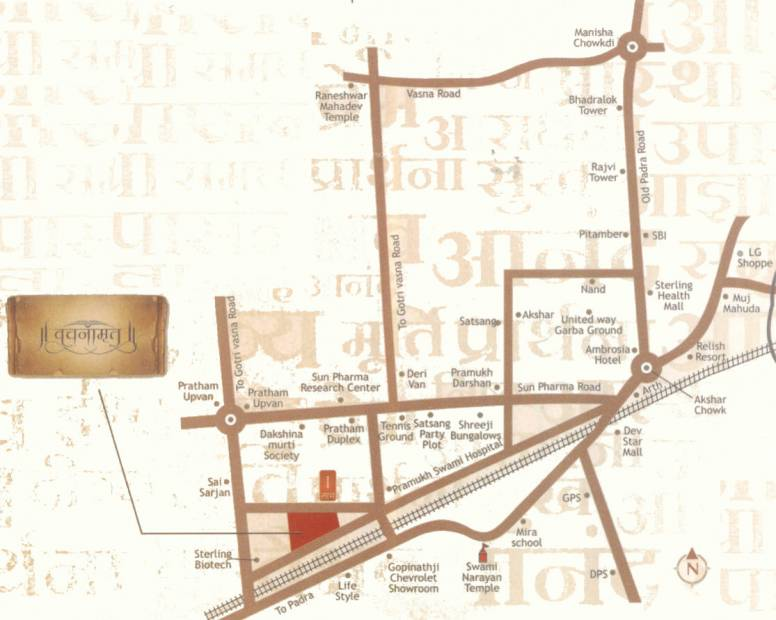 Images for Location Plan of Labh Vachnamrut