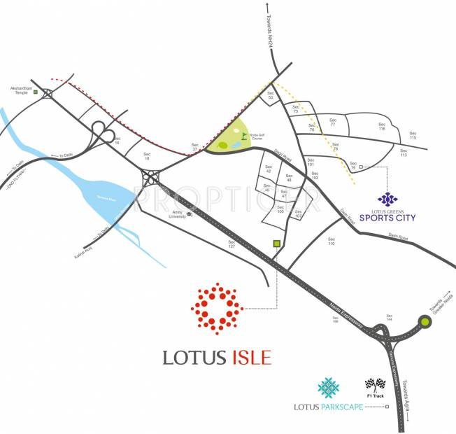 isle Images for Location Plan of Lotus Isle