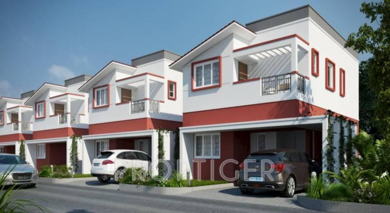 Images for Elevation of Shriram Santrupthi Independent Villas