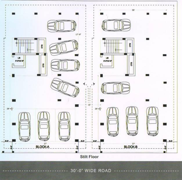 Images for Cluster Plan of Palace Sai Sankara
