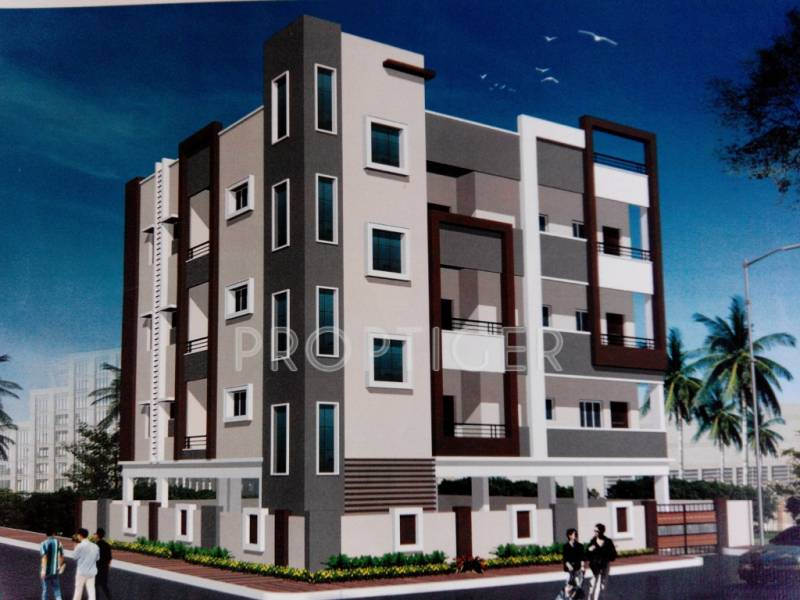 Images for Elevation of Cyber Constructions Krishna Paradise