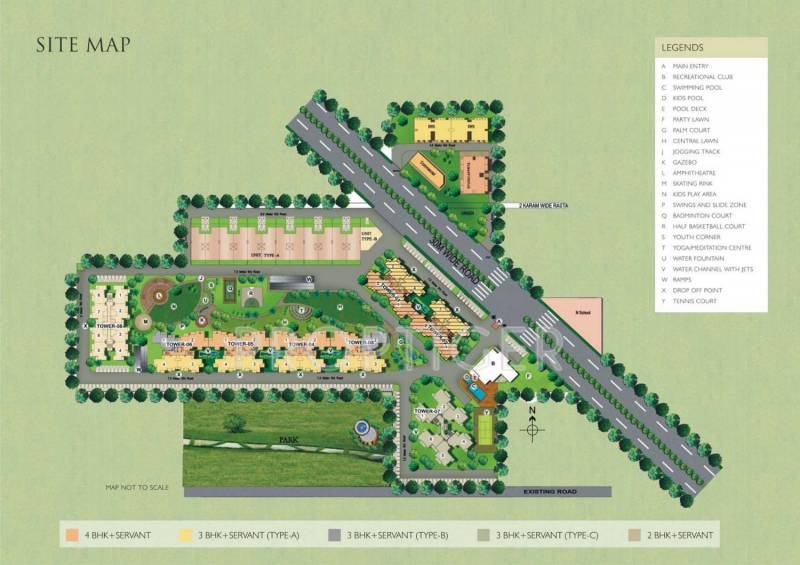 Images for Site Plan of Satya Platina