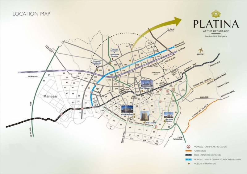 Images for Location Plan of Satya Platina