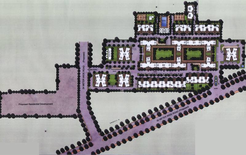 Images for Master Plan of Satya The Legend Villas