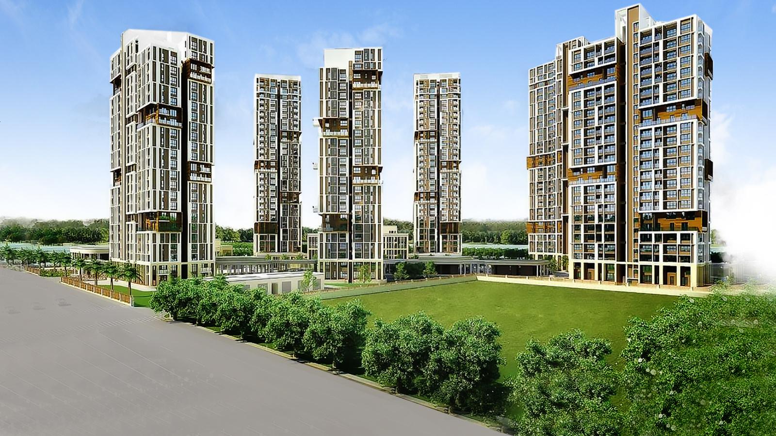 3, 4 BHK Cluster Plan Image - TATA Housing Development ...