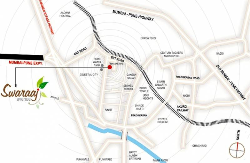 Images for Location Plan of ABC Swaraaj Avenue