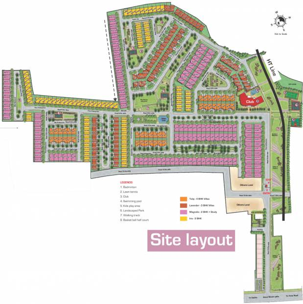 Images for Layout Plan of Ashiana Gulmohar Gardens Apartments