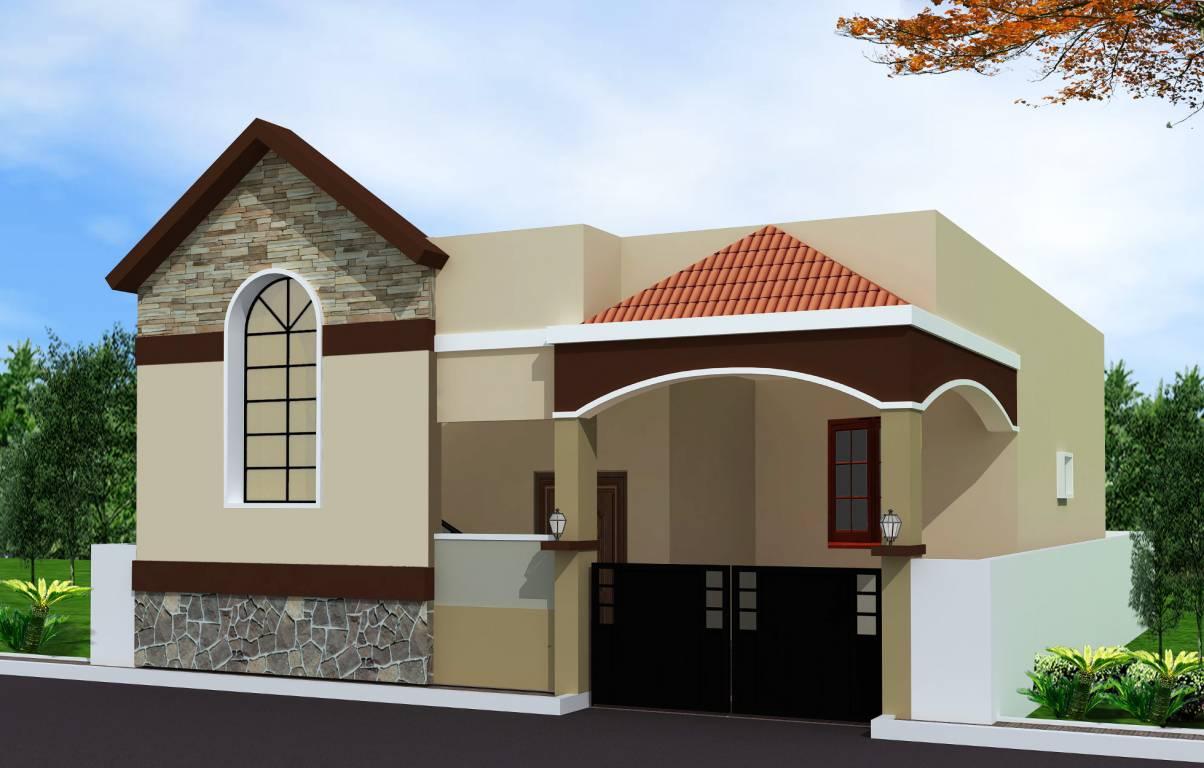 Single Floor Villa Elevation : Pride india the empire villa in balapur hyderabad price