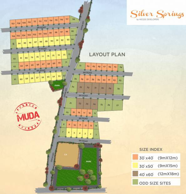 Images for Layout Plan of Aspire Silver Springs