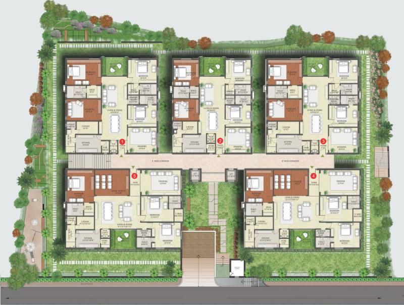 jyothi-nest Images for Cluster Plan of Vamsiram Jyothi Nest