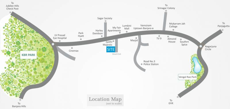 jyothi-nest Images for Location Plan of Vamsiram Jyothi Nest