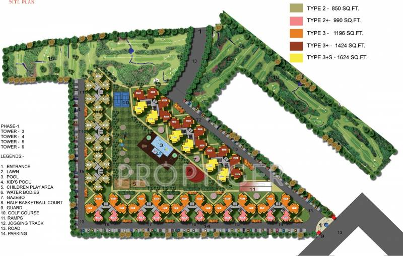 Images for Site Plan of Vihaan Golf Bay