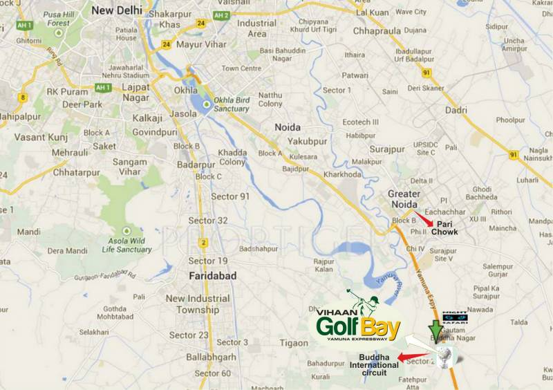 Images for Location Plan of Vihaan Golf Bay