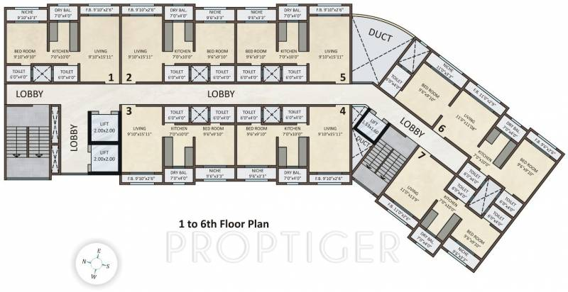 Images for Cluster Plan of Siddharth Enclave