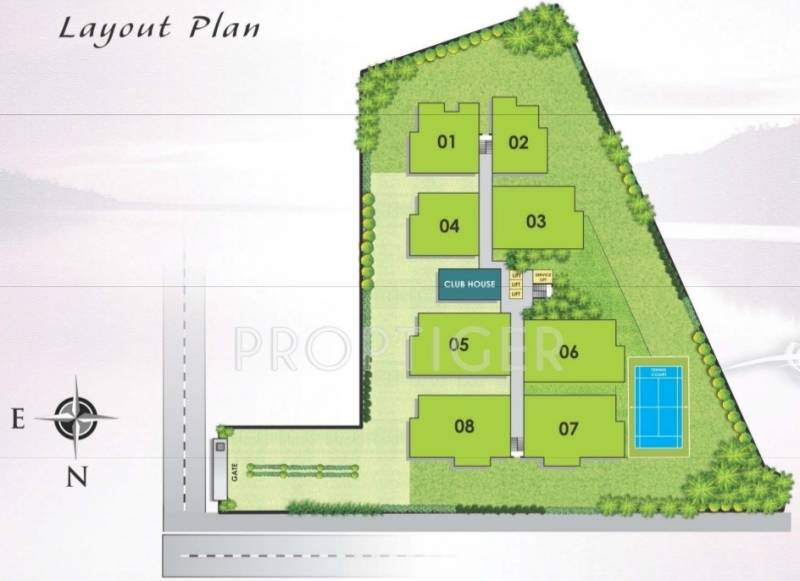 Images for Layout Plan of Maruti The Lake Towers