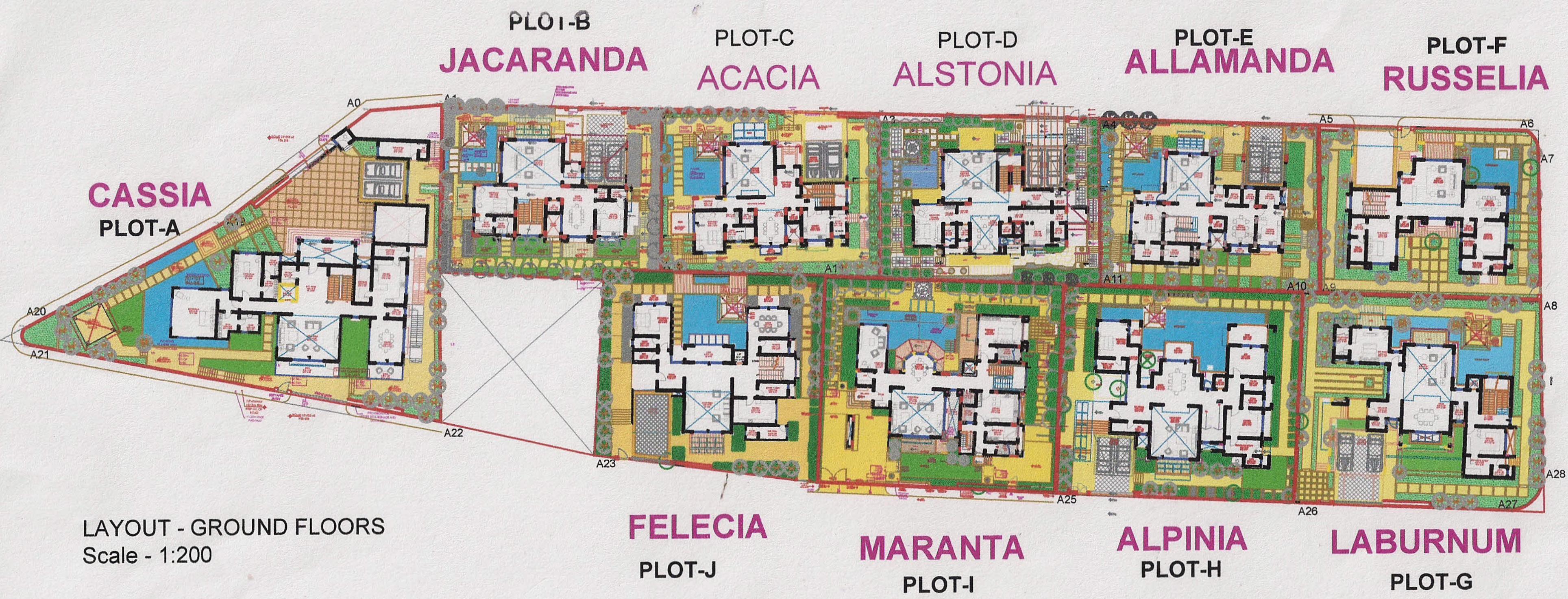 Db aldeia de villa in dona paula goa price location for Plan de villa