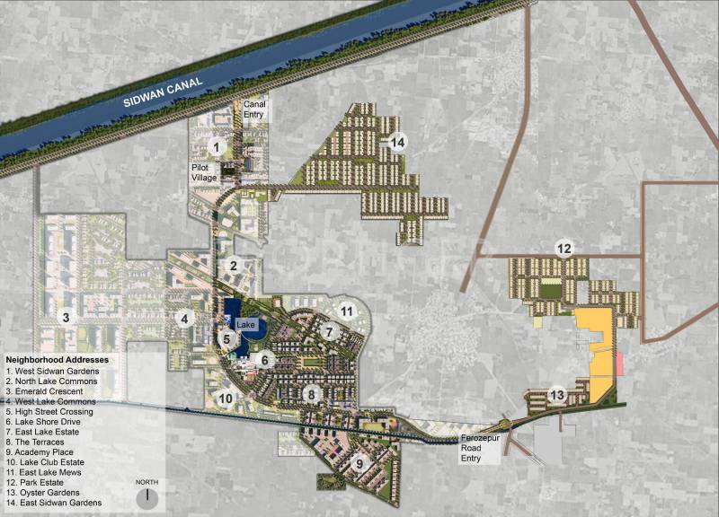 Images for Master Plan of Ireo Waterfront