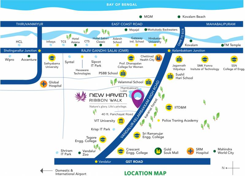 Images for Location Plan of TATA New Haven Ribbon Walk