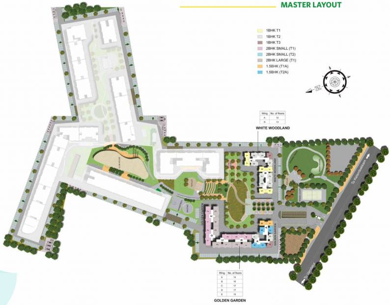 Images for Master Plan of TATA New Haven Ribbon Walk