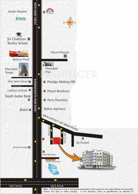 Images for Location Plan of Suvrith Soprano
