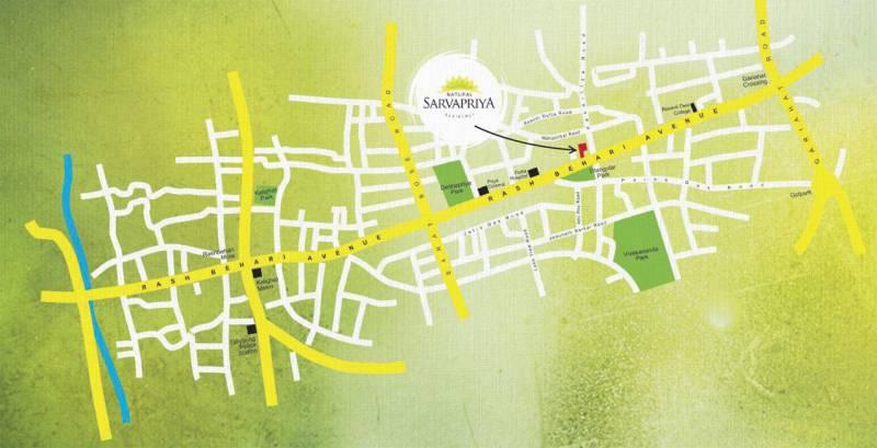 Images for Location Plan of Natural Sarvapriya Residency