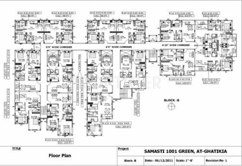 Images for Cluster Plan of Samasti 1001 Greens