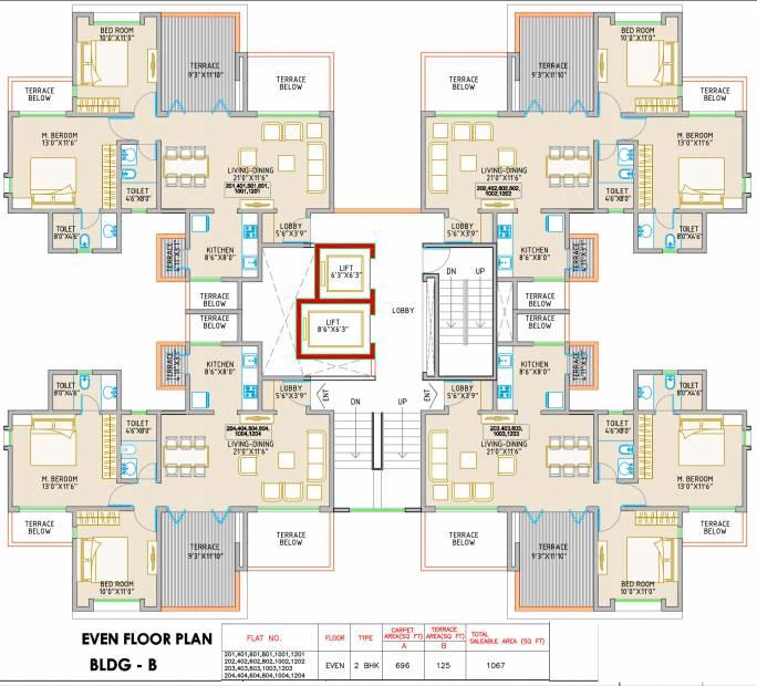 Images for Cluster Plan of Orange Royal Orange County