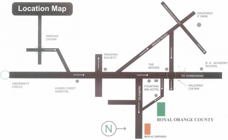 Images for Location Plan of Orange Royal Orange County