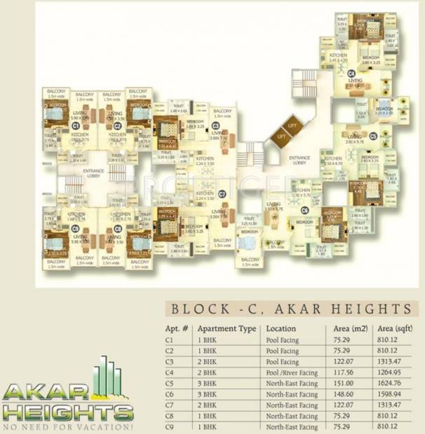 Images for Cluster Plan of Akar Heights