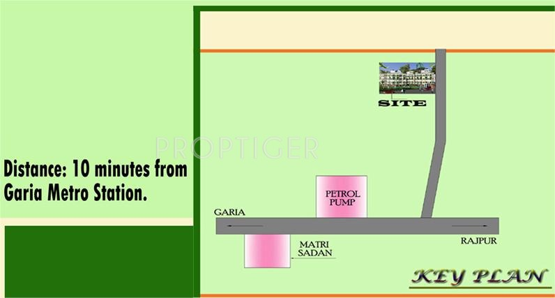 Images for Location Plan of Mahanagar Projects Shaila Residency
