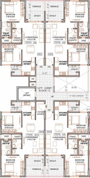 Images for Cluster Plan of Sipani Bliss