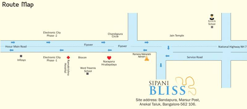 Images for Location Plan of Sipani Bliss