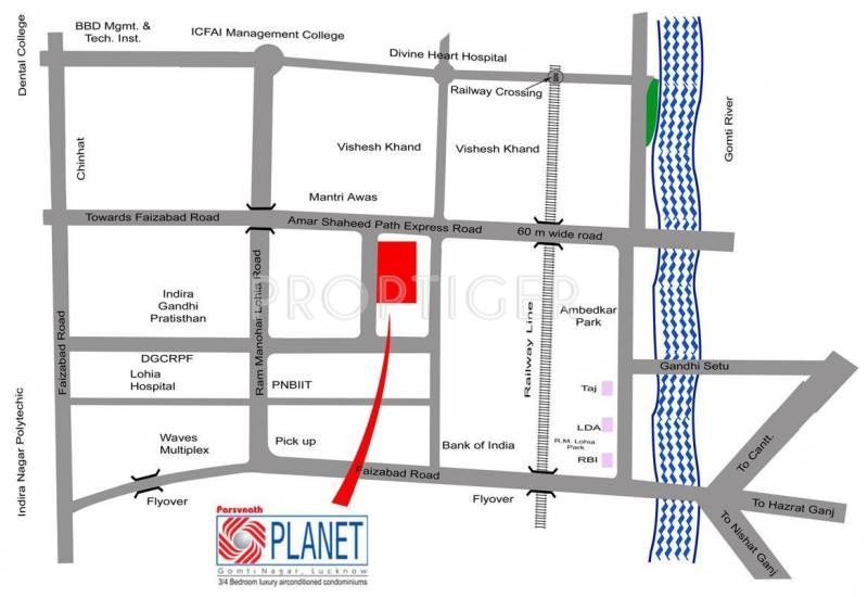 planet Images for Location Plan of Parsvnath Planet