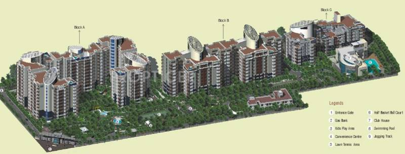 Images for Layout Plan of Sahara Grace Villa