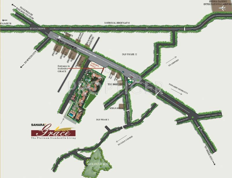 Images for Location Plan of Sahara Grace Villa