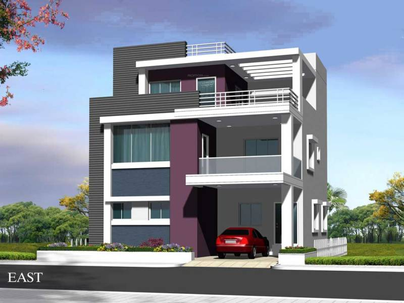 N Home Elevation Images : Main elevation image of n k leasing villa scapes unit
