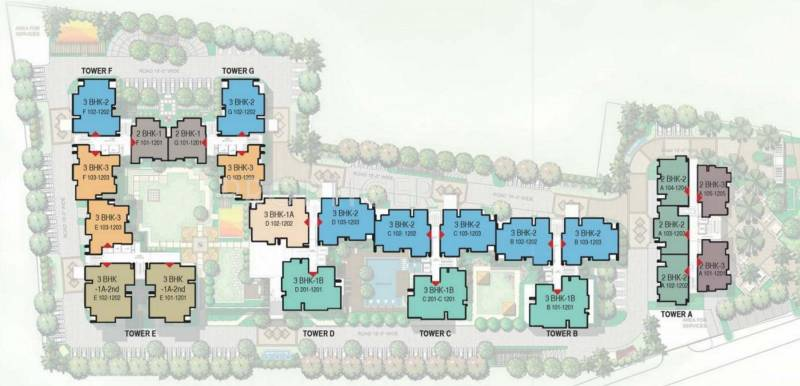 Images for Layout Plan of Mahima Panache
