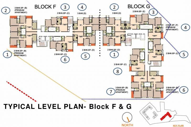Images for Cluster Plan of Godrej City Woods Panvel Ph 1