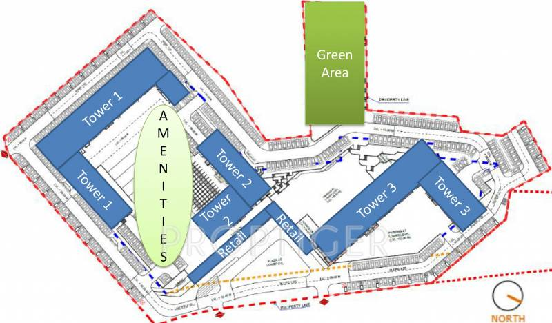 Images for Layout Plan of Godrej City Woods Panvel Ph 1