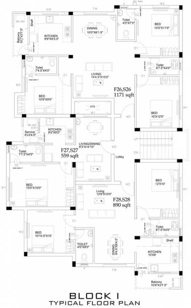 Images for Cluster Plan of Ruby Homes