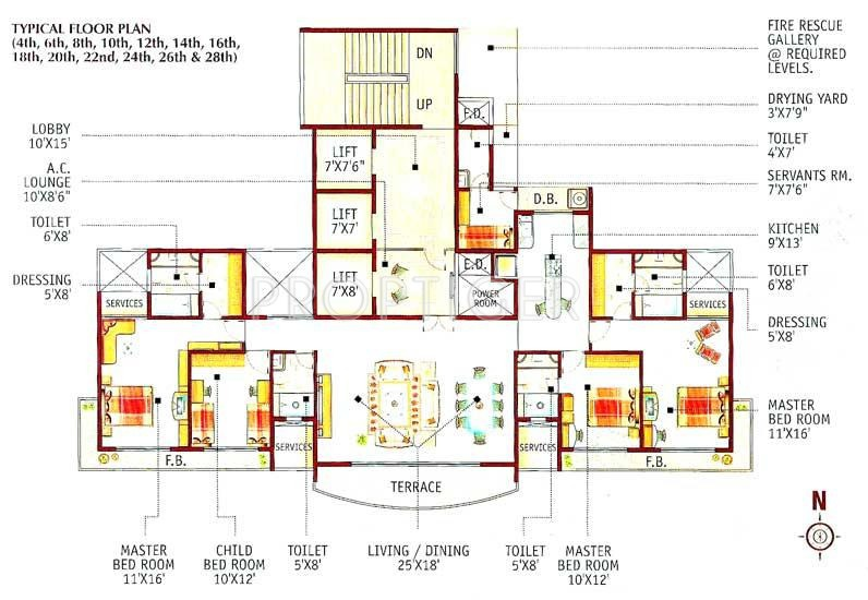 Images for Cluster Plan of Lotus Group Of Companies Acropolis