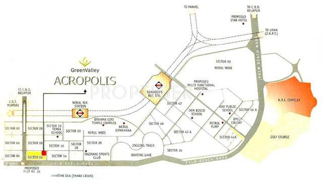 Images for Location Plan of Lotus Group Of Companies Acropolis