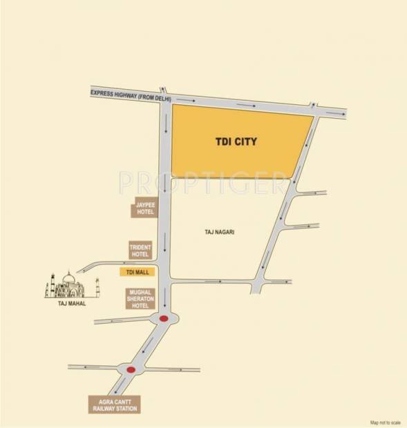 Images for Location Plan of TDI Infrastructure TDI City