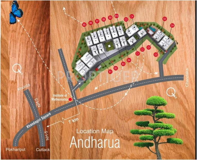 Images for Location Plan of Motwani MJ Woods
