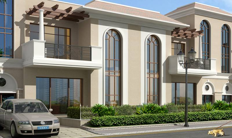 Images for Elevation of Omaxe Palm Villa