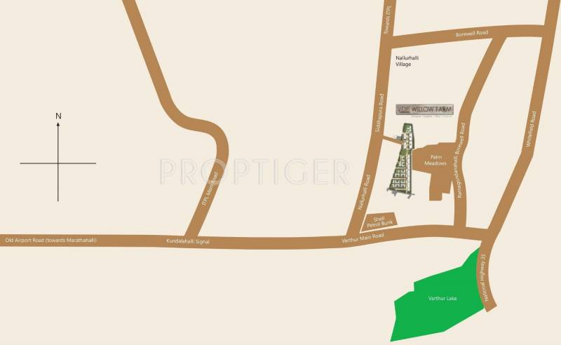 Images for Location Plan of Value Willow Farm Villa