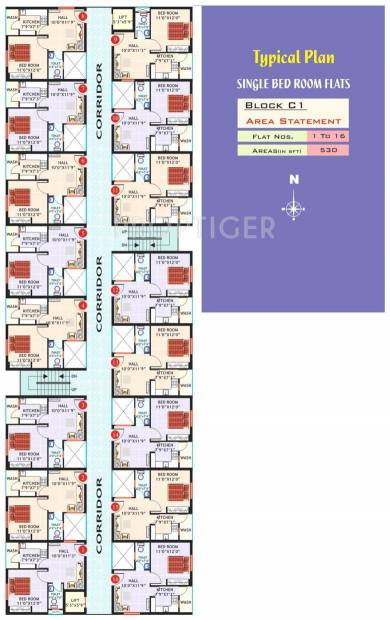 Images for Cluster Plan of Hi Tech Paradise