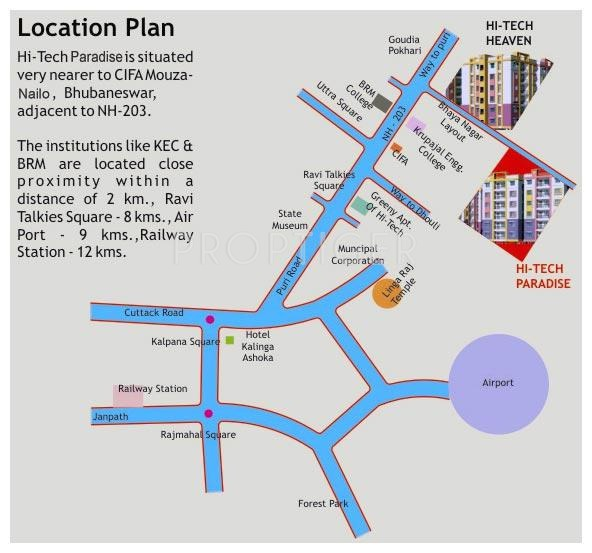 Images for Location Plan of Hi Tech Paradise